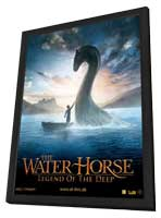 The Water Horse: Legend of the Deep - 11 x 17 Movie Poster - Danish Style B - in Deluxe Wood Frame