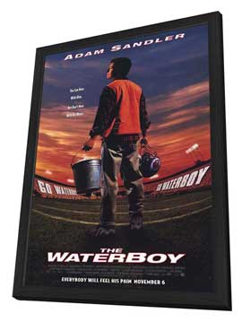 The Waterboy - 11 x 17 Movie Poster - Style A - in Deluxe Wood Frame