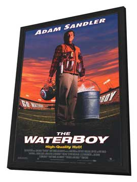 The Waterboy - 27 x 40 Movie Poster - Style B - in Deluxe Wood Frame