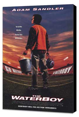 The Waterboy - 11 x 17 Movie Poster - Style A - Museum Wrapped Canvas