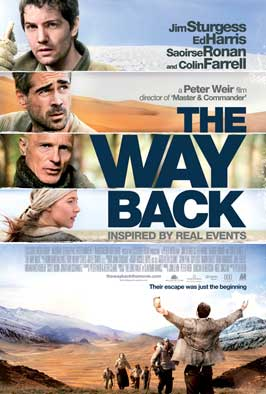 The Way Back - 43 x 62 Movie Poster - Bus Shelter Style A