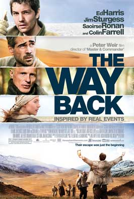 The Way Back - 11 x 17 Movie Poster - Style A - Double Sided