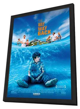 The Way, Way Back - 27 x 40 Movie Poster - Style A - in Deluxe Wood Frame