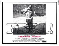 Way We Live Now - 11 x 14 Movie Poster - Style A
