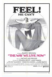 Way We Live Now - 27 x 40 Movie Poster - Style A