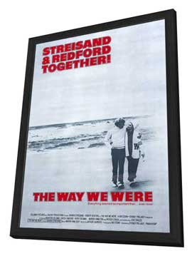 Way We Were, The - 27 x 40 Movie Poster - Style A - in Deluxe Wood Frame