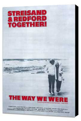 Way We Were, The - 27 x 40 Movie Poster - Style A - Museum Wrapped Canvas