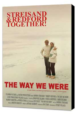 Way We Were, The - 27 x 40 Movie Poster - Style B - Museum Wrapped Canvas