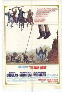 The Way West - 27 x 40 Movie Poster - Style A