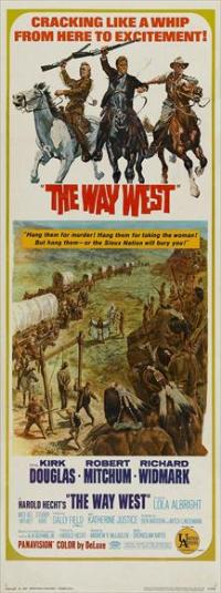 The Way West - 14 x 36 Movie Poster - Insert Style A