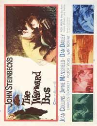 The Wayward Bus - 22 x 28 Movie Poster - Half Sheet Style A