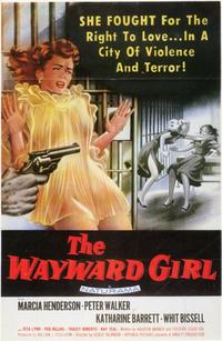 The Wayward Girl - 11 x 17 Movie Poster - Style A