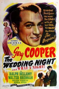 The Wedding Night - 11 x 17 Movie Poster - Style C