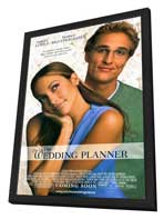 The Wedding Planner - 27 x 40 Movie Poster - Style A - in Deluxe Wood Frame