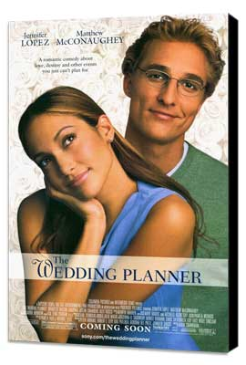 The Wedding Planner - 27 x 40 Movie Poster - Style A - Museum Wrapped Canvas