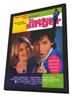 The Wedding Singer - 11 x 17 Movie Poster - Style B - in Deluxe Wood Frame