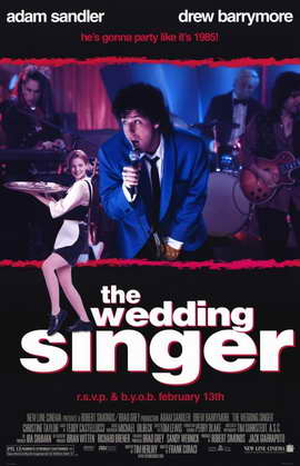 The Wedding Singer - 11 x 17 Movie Poster - Style A