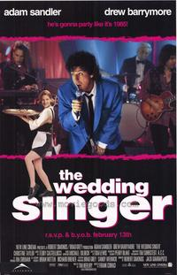 The Wedding Singer - 43 x 62 Movie Poster - Bus Shelter Style A