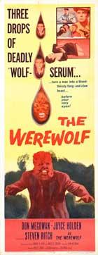 The Werewolf - 14 x 36 Movie Poster - Insert Style A