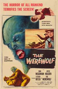The Werewolf - 43 x 62 Movie Poster - Bus Shelter Style A