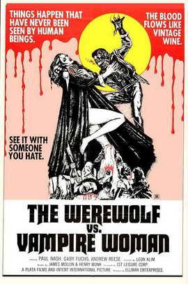 The Werewolf Versus Vampire Women - 11 x 17 Movie Poster - Style A