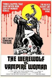 The Werewolf Versus Vampire Women - 27 x 40 Movie Poster - Style A