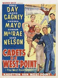 The West Point Story - 11 x 17 Movie Poster - Belgian Style A