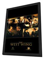 The West Wing - 11 x 17 TV Poster - Style B - in Deluxe Wood Frame