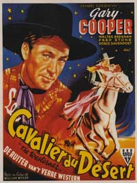 The Westerner - 11 x 17 Movie Poster - Belgian Style A