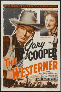 The Westerner - 27 x 40 Movie Poster - Style C