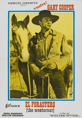 The Westerner - 11 x 17 Movie Poster - Spanish Style B