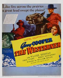The Westerner - 11 x 17 Movie Poster - Style E