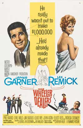 The Wheeler Dealers - 27 x 40 Movie Poster - Style A