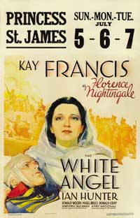 The White Angel - 11 x 17 Movie Poster - Style A