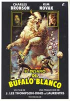 The White Buffalo - 27 x 40 Movie Poster - Spanish Style A