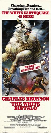 The White Buffalo - 14 x 36 Movie Poster - Insert Style A