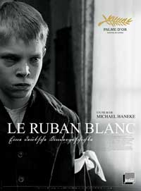 The White Ribbon - 11 x 17 Movie Poster - French Style A