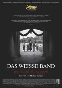 The White Ribbon - 11 x 17 Movie Poster - German Style A