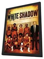 The White Shadow - 11 x 17 Movie Poster - Style A - in Deluxe Wood Frame