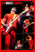 The White Stripes - Music Poster - 24 x 36 - Style A