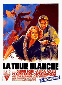 The White Tower - 11 x 17 Movie Poster - French Style A