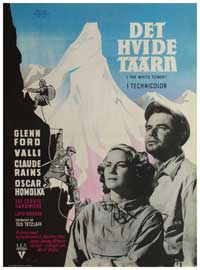 The White Tower - 11 x 17 Movie Poster - Danish Style A