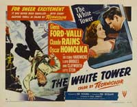 The White Tower - 22 x 28 Movie Poster - Half Sheet Style A