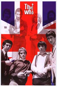 The Who - Music Poster - 22 x 34 - Style B