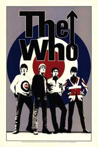 The Who - Music Poster - 24 x 36 - Style A