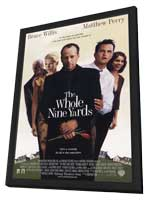 The Whole Nine Yards - 11 x 17 Movie Poster - Style A - in Deluxe Wood Frame