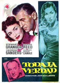 The Whole Truth - 11 x 17 Movie Poster - Spanish Style A