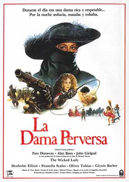 The Wicked Lady - 27 x 40 Movie Poster - Spanish Style A
