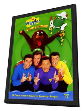 The Wiggles - 27 x 40 Movie Poster - Style B - in Deluxe Wood Frame