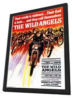 The Wild Angels - 11 x 17 Movie Poster - Style A - in Deluxe Wood Frame